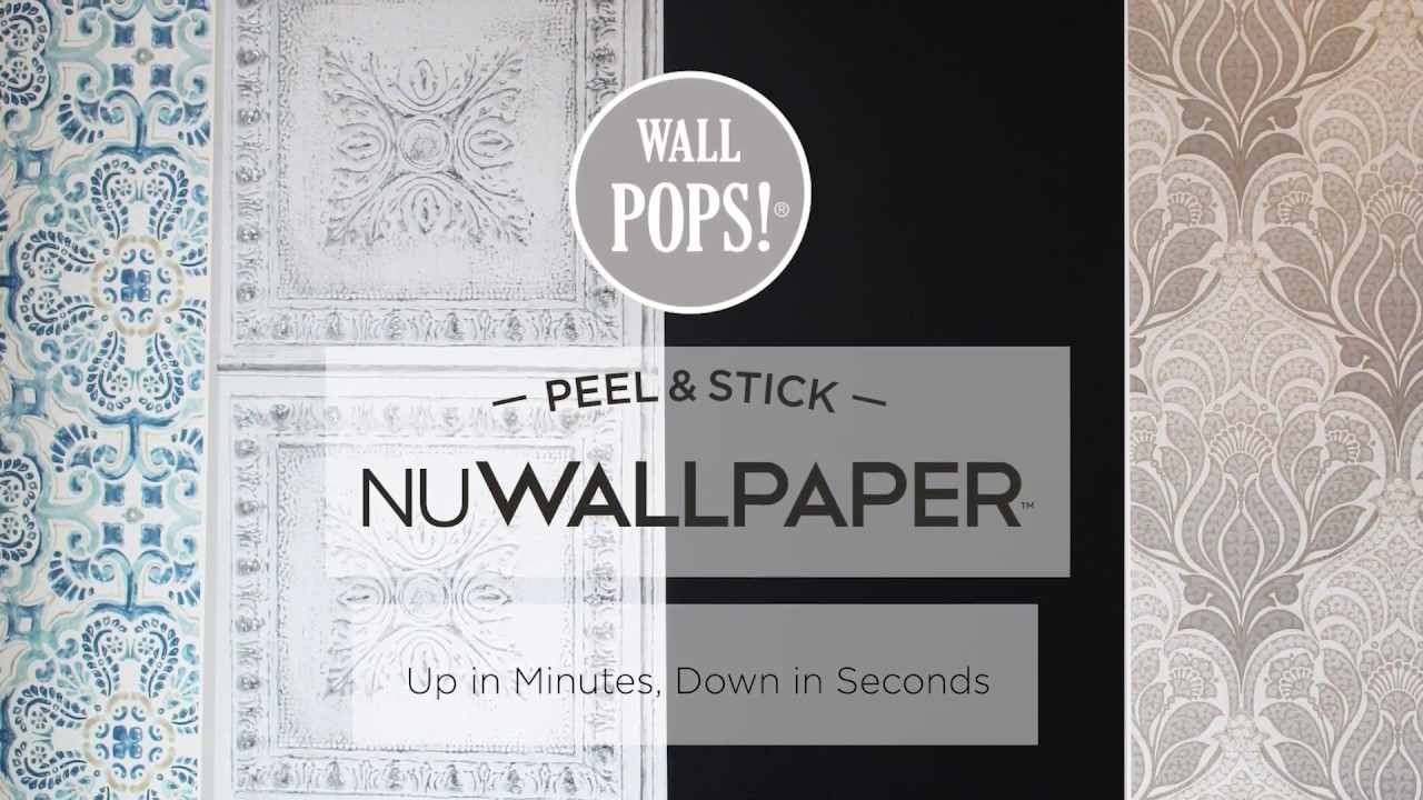 Peel Stick Wallpaper Installation And Removal Youtube