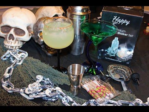 Halloween drink recipes - Alien Urine Sample and Devilled ...