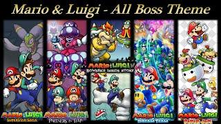 Mario & Luigi OST - All Boss Battle Theme (Paper Jam)