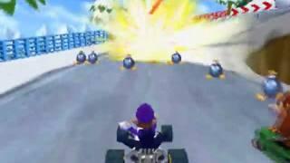 Mario Kart DS Codes: Land Mine Bob-ombs
