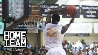 Andrew Wiggins Gets EYE LEVEL On 2 Oops!! 5 MONSTER DUNKS In One Game At 2012 City Of Palms