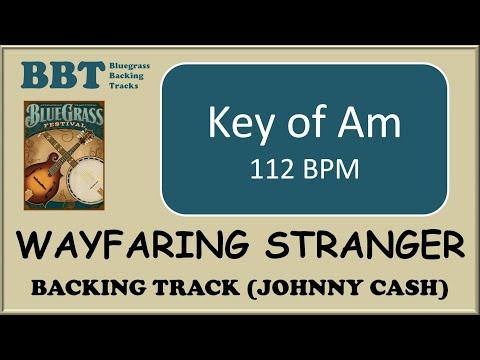 Wayfaring Stranger  - backing track