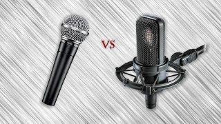 видео ТОП-10 лучших микрофонов для записи вокала.