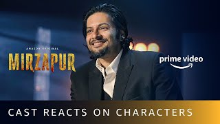 Mirzapur Cast Reacts On The Characters | Pankaj Tripathi, Ali Fazal, Divyenndu | Amazon Original