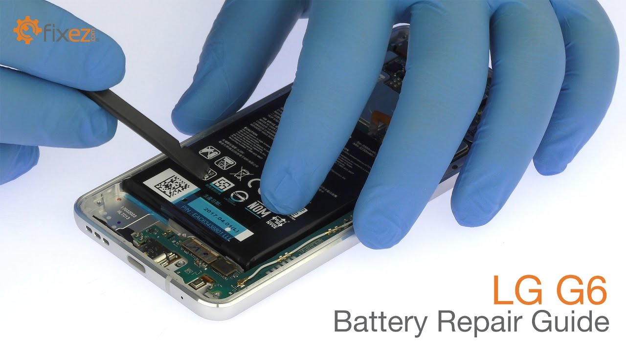 LG G6 Battery Repair Guide - Fixez com