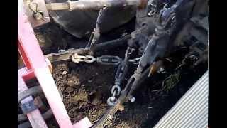 обзор мини трактора shifeng 244 в работе