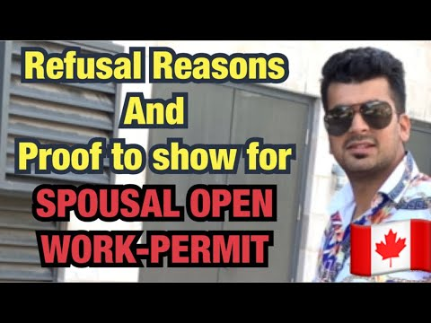 Proof you need to show for Spousal Open Work Permit, Canada 🇨🇦 || Hindi || Kataria TV