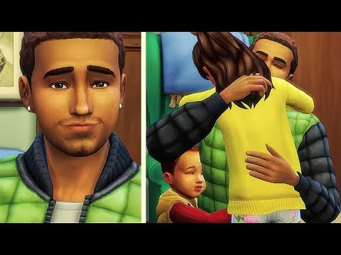 STRUGGLING SINGLE FATHER OF TWO 👨👧👶 | THE SIMS 4 // CREATE A SIM thumbnail