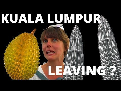 KUALA LUMPUR - MALAYSIA - FIRST TIME Trying MALAYSIAN DURIAN - We Can't Believe This Is It!!!!!