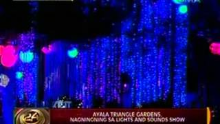24 Oras: Ayala Triangle Gardens, nagningning sa lights and sounds show