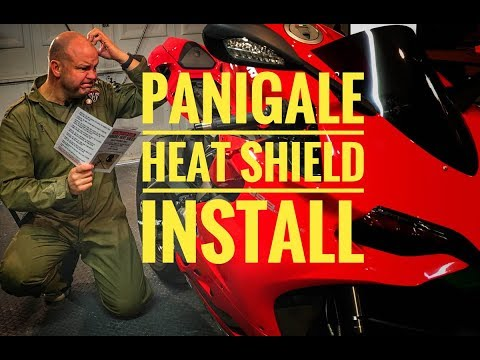 How to fix the Panigale heat issue: Installing a Panigale Heat Shield