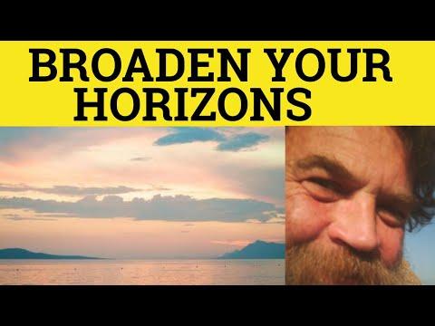 Broaden Your Horizons Take 2 - Vocabulary Builder 3 - ESL British English Pronunciation