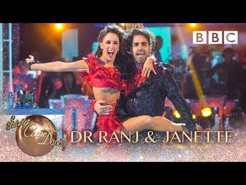 Dr Ranj Singh & Janette Manrara Salsa to 'Fireball' - BBC Strictly 2018