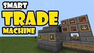 How To Make Minecraft Trading Machine 1 8