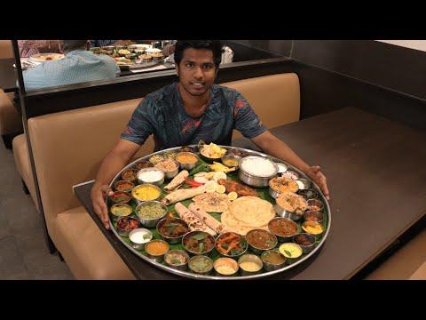 Biggest Thali of South India | Ponnuswamy Hotel | Nungambakkam