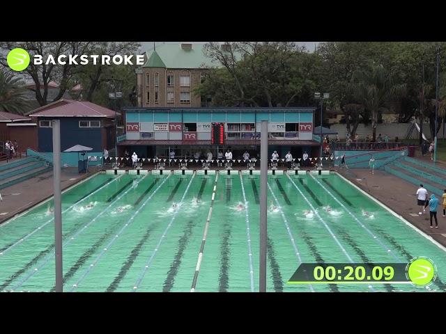 #203 Mixed 50 LC Meter Backstroke Heat 4 of 6 Finals
