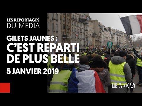GILETS JAUNES : C'EST REPARTI DE PLUS BELLE - ACTE VIII
