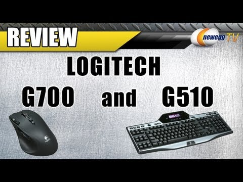 Newegg Review: Logitech G700 Gaming Mouse and G510 Gaming Keyboard