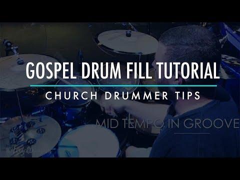 Gospel Drum Fill Tutorial - Church Drummer