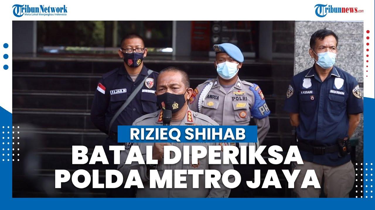 Pemeriksaan Habib Rizieq Shihab Batal Hari Ini