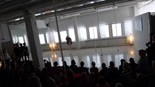 Tanja and Hanna - Vertical Club Springshow 2015