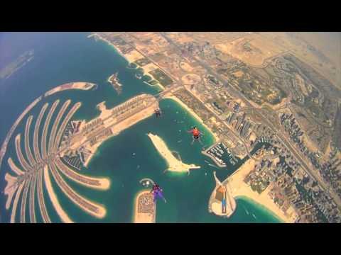 2013 - Skydiving in Dubai, UAE