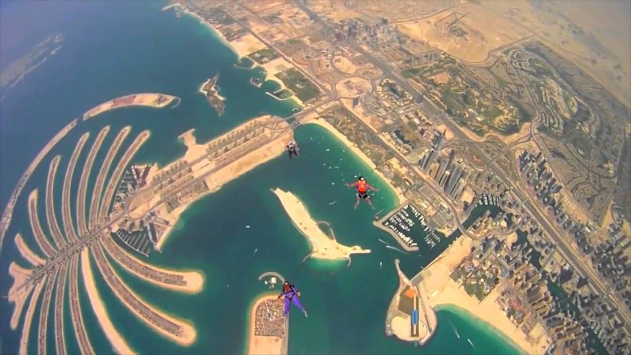 Hp Full Hd Wallpaper 2013 Skydiving In Dubai Uae Youtube