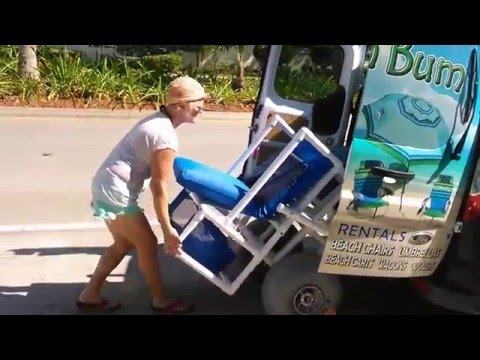 Beach Chair and Beach Wheelchair rentals ~ WE DELIVER!