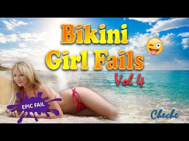 Funny Bikini Girl Fails Compilation Video #4 | Bikini Girl Beach Fails 2019 | Funny Girl Fails