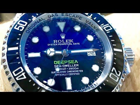 New! Rolex 126660 James Cameron D-Blue Deepsea Seadweller vs DSSD 116660
