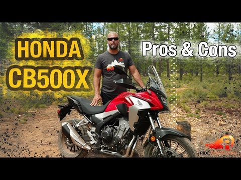 2019 HONDA CB500X REVIEW | Pros and Cons | RIDE Adventures