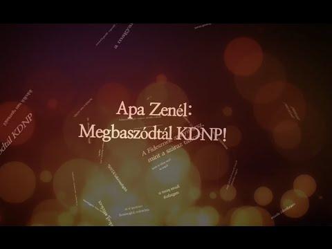 Apa Zenél: Megbaszódtál KDNP!