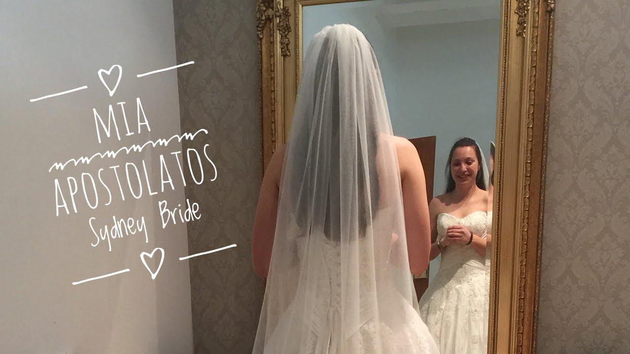Dress Alterations And Bridal Veil For Sydney Bride Mia Apostolatos