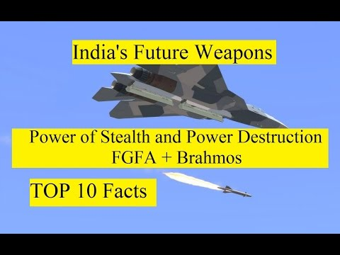 India's Future Weapons Power of Stealth and Power of Destruction FGFA + Brahmos