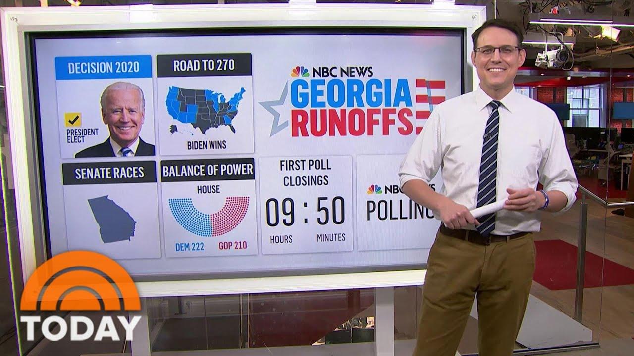 Steve Kornacki Breaks Down Impact Of Georgia Senate Runoff | TODAY