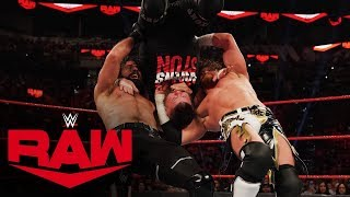 Seth Rollins & Buddy Murphy vs. Kevin Owens & Samoa Joe - Raw Tag Title Match: Raw, Jan. 27, 2020
