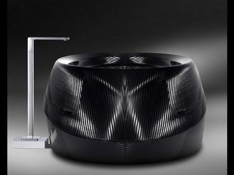 Carbon Badewanne Duschskluptur Youtube