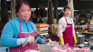 Vietnam || Ba Hoa Market || Saigon City