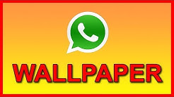 How to change the chat background wallpaper image on WhatsApp