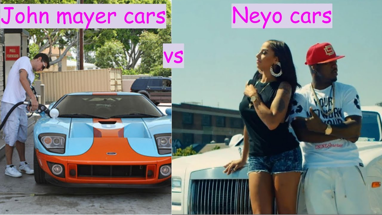 John Mayer Cars Vs Neyo Cars