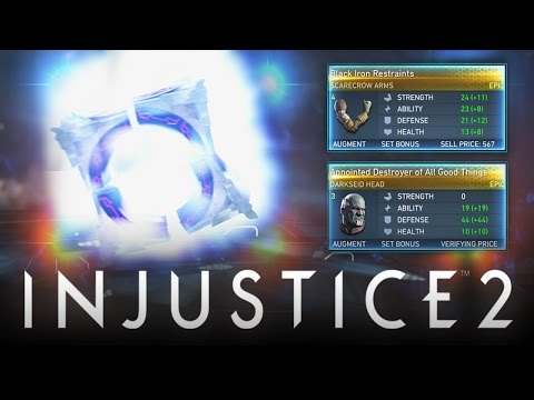 Injustice 2: Mother Box Opening! Epic & Rare Gear w/ 80+ Mother Boxes! (Injustice 2: Mother Boxes)