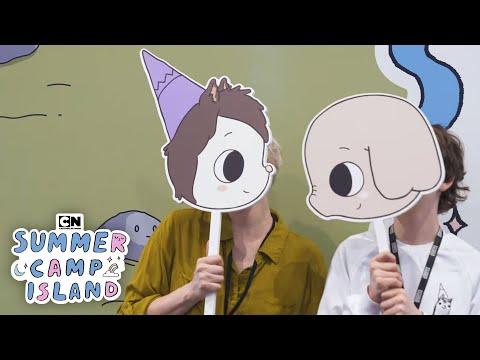 Summer Camp Island | Cartoon Network Studios Tour | Cartoon Network