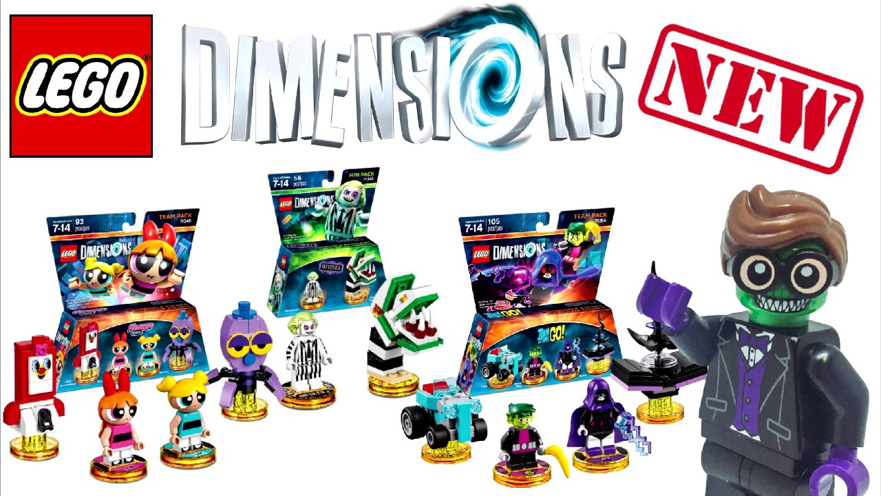NEW 2017 Lego Dimensions Sets Revealed - YouTube
