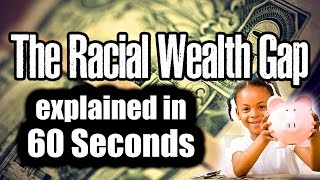 The Racial Wealth Gap Explained in 60 Seconds - The Color of Wealth Inequality