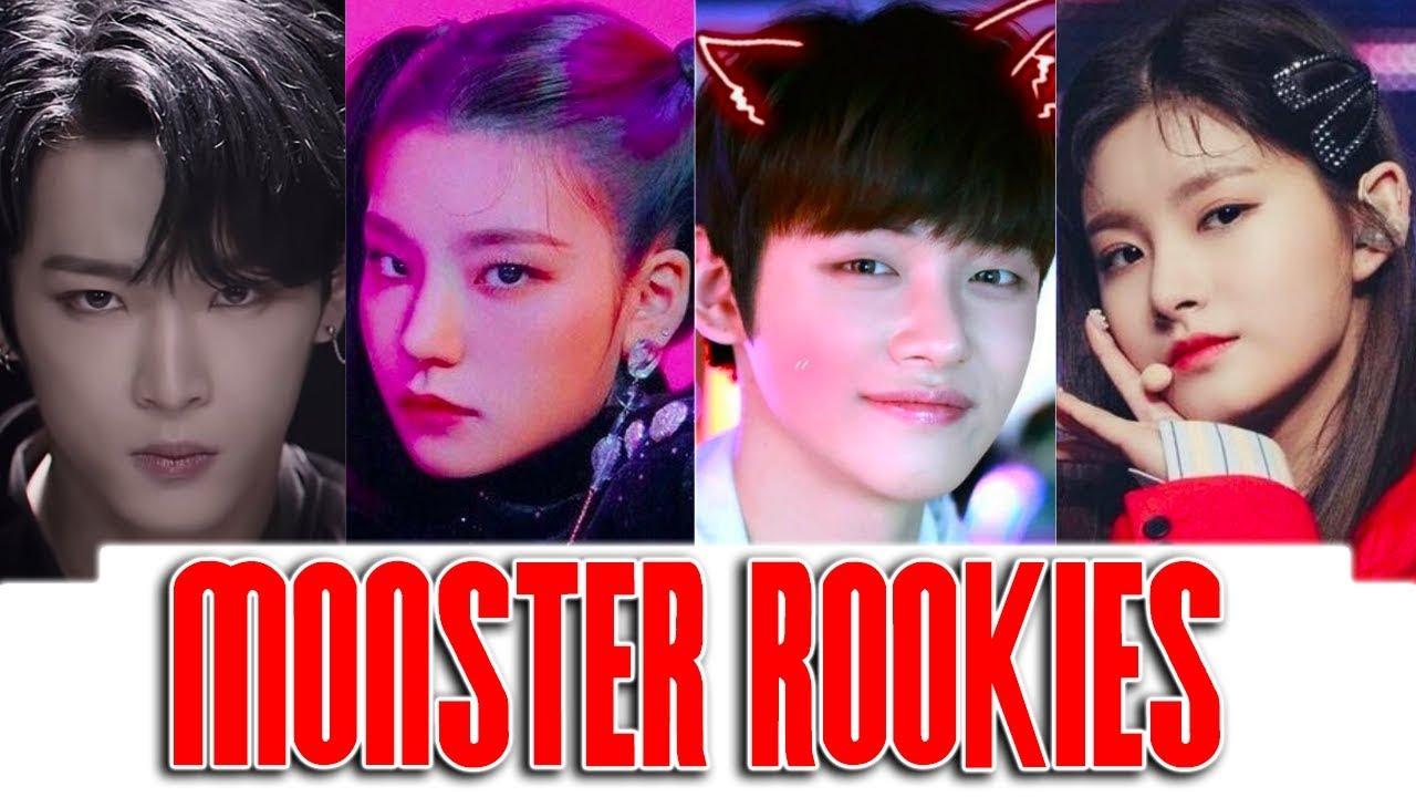 KPOP Monsters Rookies Ranking in (DANCE, RAP, VOCAL & VISUAL)