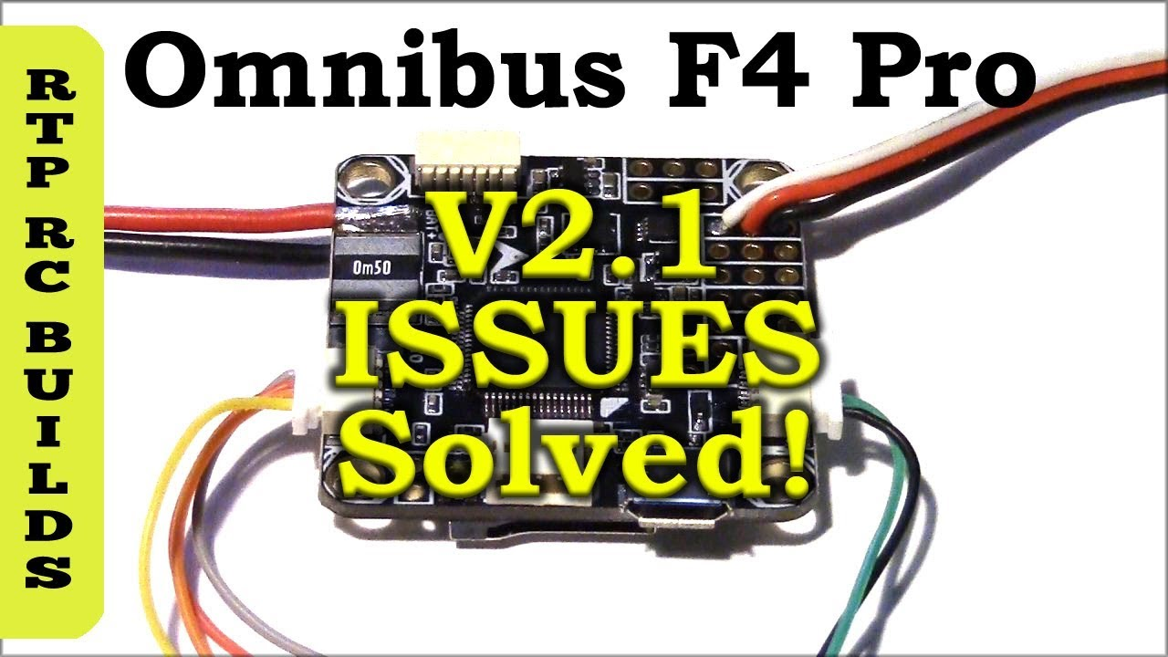 Omnibus F4 Pro V2.1 Solving GPS and Receiver Port Wiring Issues SBUS on