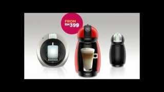 崭新Dolce Gusto Genio, 轻松滑动滚轮, 打造精确符合您口味的咖啡. 今天...