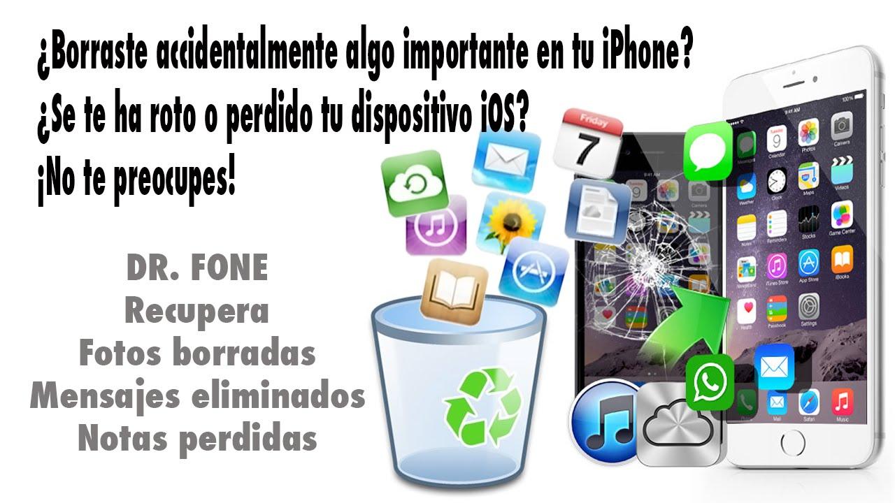 recuperar fotos antiguas iphone
