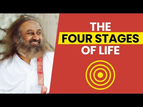 The Four Stages of Life - Short talk by Sri Sri Ravi Shankar