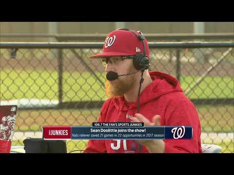 Nationals: Relief Pitcher Sean Doolittle
